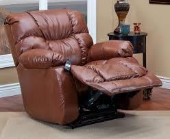 pecan bonded leather iii canyon sleeper reclining lift chair