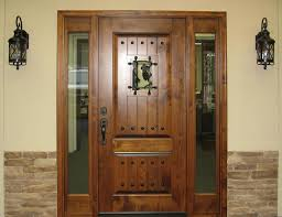 wood front doors with side panels and wood front doors with glass panels