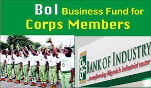 BANK OF INDUSTRY LOAN FOR CORPS MEMBERS (NYSC)