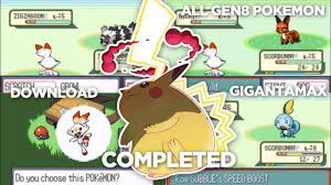 Completed Pokemon Sword & Shield GBA Rom Hack 2020 With Gigantamax, All Gen  8 Pokemon & Much More! - YouTube