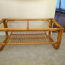 rattan coffee table contemporary rattan coffee table in best vintage needs glass top long x decor rattan coffee table