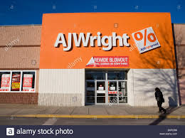A AJ Wright clothing store Stock Photo - Alamy