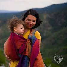 Girasol Rainbow Love Woven Wrap Baby Carrier - Wrap Your Baby