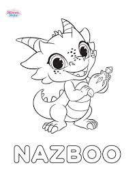 Shimmer And Shine Coloring Pages Omalovánky Dragon Coloring Page