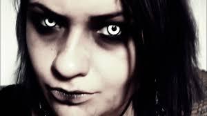 living dead creepy makeup