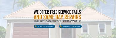 garage door repair services fort lauderdale florida