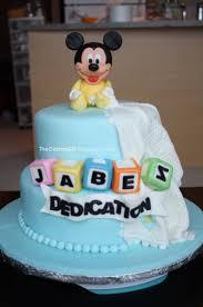 Baby Mickey Cake  236 Cakes  CakesDecorBaby Mickey Baby Shower Cakes