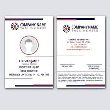 Download Free Tree And Identity Vectors Design For Templates Id White Card Business