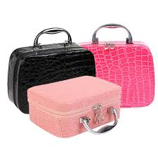 pro makeup train storage bag case jewelry box cosmetic artist organizer
