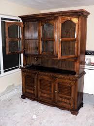 Kitchen Furniture Hutch Kitchen Wooden Kitchen Furniture Hutch With Display Shelves