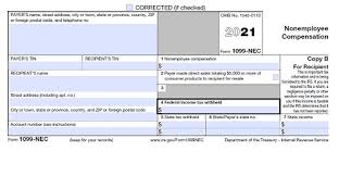 They will mail a letter advising you of the discrepancy. Form 1099 Nec For Nonemployee Compensation H R Block