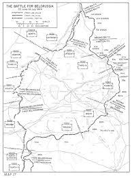 The battle for belorussia 22 june 18 july 1944