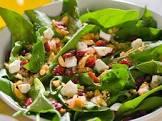 amaretto spinach salad