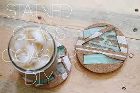stained glass coaster diy