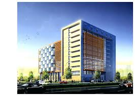 contemporary office building. Contemporary Office Building Design Modern Plan Idea With Awesome Geometric Wall .