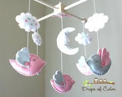 mobile baby crib girl nursery bird zoom . mobile baby crib ...