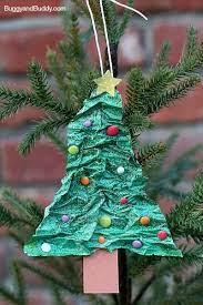 homemade christmas tree ornament using