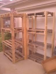 Garage storage  Ryobi Nation - Pallet Shelves ...