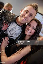 Roman Atwood & Brittney Smith on the red carpet for the new movie... News  Photo - Getty Images