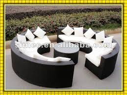 2013 factory hot sale cheap price outdoor wicker furniture garden sofa patio sunbed lounger SCSF 075