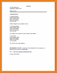11+ Resume Reference Page Template | Activo Holidays