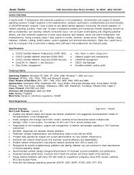 Network Engineer Resume Magnificent Network Engineer Resume