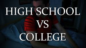 high school vs college high school vs college