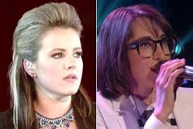 I Itunes Charts The Voice The Voice Contestants Amber Carrington And Michelle Chamuel