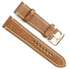 whole handmade vintage replacement leather watch strap watch band 19mm rose gold buckle brown watches lots from china on ilikewatch com