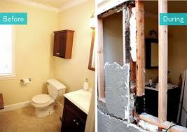 Small Remodeled Bathrooms Before And After Style