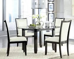 medium size of modern glass 7 piece dining table set black and red tempered chairs 6