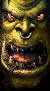 world of warcraft orc android wallpaper