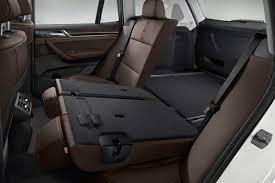 BMW Convertible bmw x3 back seat : 2015 BMW X3 Facelift fodling mechanism on rear seat   AutonetMagz