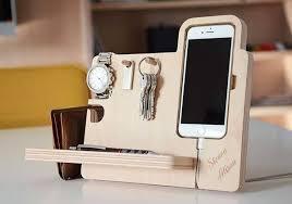 unique desk organizer. Fine Organizer Unique Desk Organizers The Handmade Organizer Boasts Integrated Watch  Stand IPhone Intended Organizer