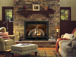 natural gas vent free fireplace logs reviews oakwood 24 in with thermostatic control