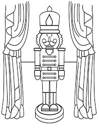 Nutcracker Coloring Page Kids Wood Crafts