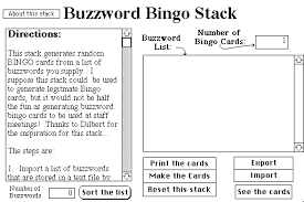buzzword bingo generator buzzword bingo v1 6 barry rowe free download streaming