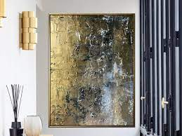 large wall art abstract copper bronze
