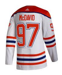 Hitting the ice in 2021. Adidas Authentic Pro Connor Mcdavid Edmonton Oilers Reverse Retro Jers Pro Hockey Life