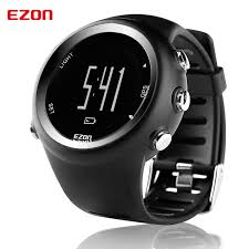 running distance gps promotion shop for promotional running ezon sports watch gps running watches men multi functional outdoor waterproof men s watches distance speed calories timing t031