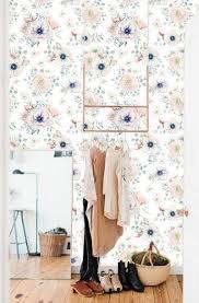 Zelfklevend Behang Bloemenprint Pastel 60x275 Cm Tapetshow