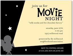 Movie Night Flyer Template Movie Night Premium Psd Flyer Template