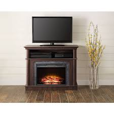 whalen fireplace a console for tvs up to 50 rustic brown com