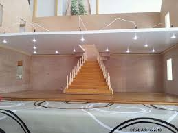 home spotlights lighting. eve bought a spotlight kit for her kitchen in dolls house she had made false wall at the back scullery which is lit separately and then 6 home spotlights lighting n