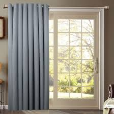 door cover curtain patio ds single panel sliding curtains windows glass doors ideas best home interior