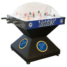 holland bar stool dhdstlblu 52 st louis blues logo deluxe dome hockey table
