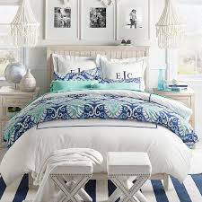 pb teen deco medallion duvet cover twin navy multi 79 liked