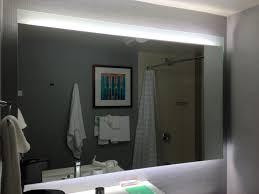 lighting behind mirror. Bathroom Lighting Led Lights Behind Mirror Decoration W