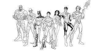 Small Picture Origins Of The Justice League Coloring Image Gallery Justice