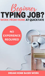 best ideas about jobs at home make money at home beginner typing job quicktate hires general transcribers to work from home regardless of their experience